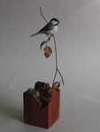Miniature Black-capped Chickadee SOLD