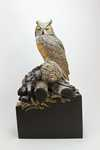 miniature great horned owl SOLD