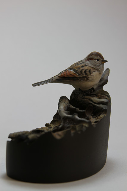 miniature american tree sparrow SOLD