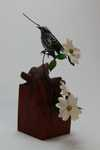 Black-and-white Warbler and Dogwood Sold