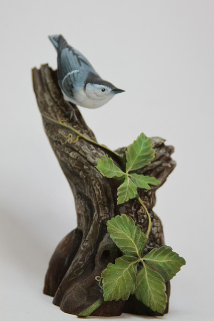 White-breasted Nuthatch SOLD 2010