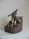 Miniature American Tree Sparrow SOLD Masters in Miniature 2009